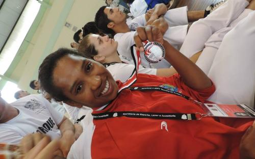 Premiação aconteceu durante os Jogos Regionais, em Sorocaba. Foto: Kauê Santos Silva/ADECC