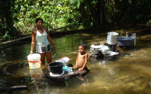 Comunidade quilombola de Nova Esperança de Concórdia, no Pará. Foto: Verena Glass