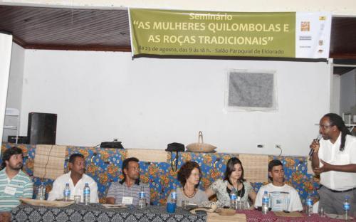 Edgard Amaral, do INCRA/SP, falou sobre como o órgão federal pode atender às demandas dos quilombolas