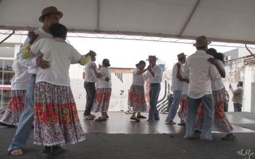A dança da Nhá Maruca foi uma das atrações culturais